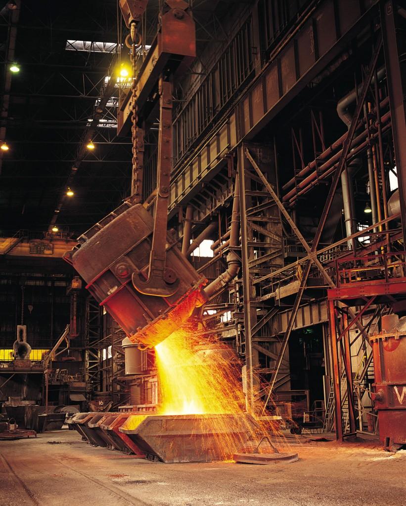 staalfabriek Shanghai